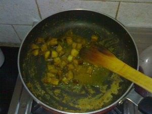 Fry the Eggplant