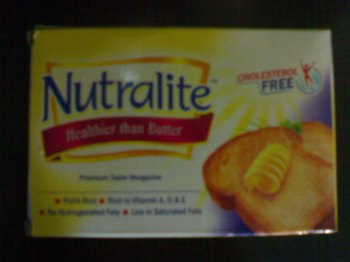 Nutralite cooking butter